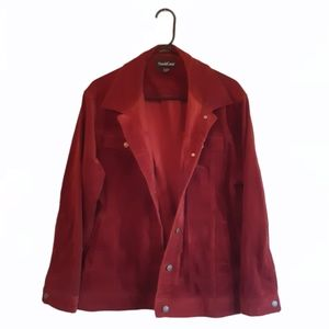 North Crest Rusty Red Corduroy Jacket